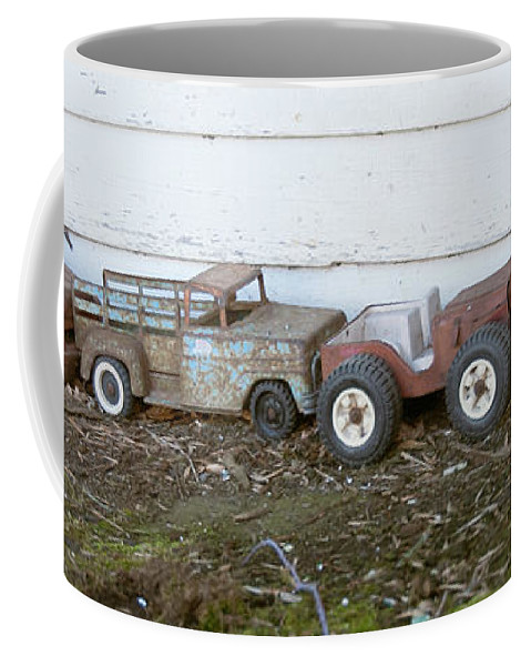 Guy Whiteley Photography Coffee Mug featuring the photograph Old Toys II by Guy Whiteley
