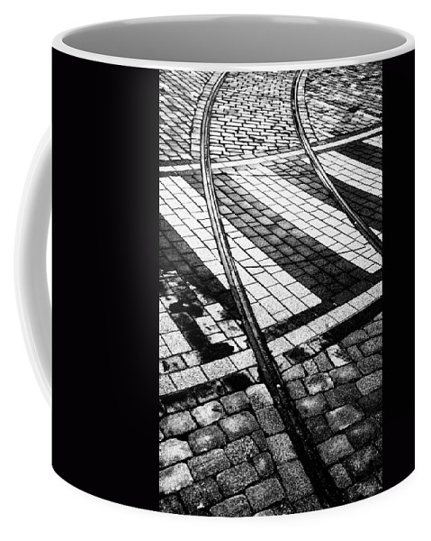 Bergen Coffee Mug featuring the photograph Old Tracks Made New by Hakon Soreide