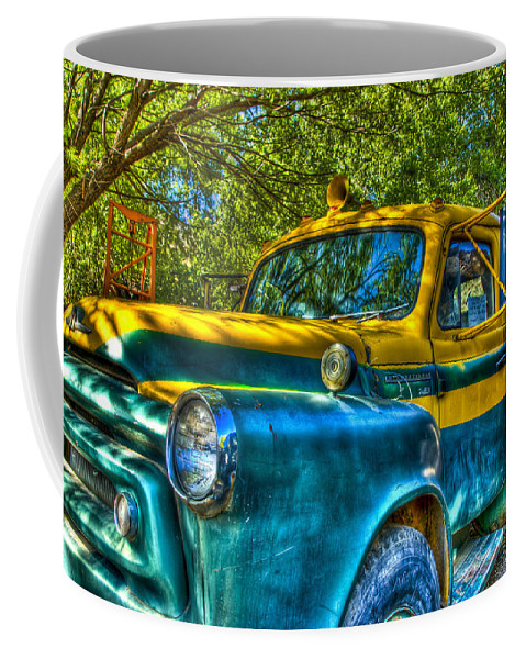 Old Truck Coffee Mug featuring the photograph Old Truck by Jon Berghoff