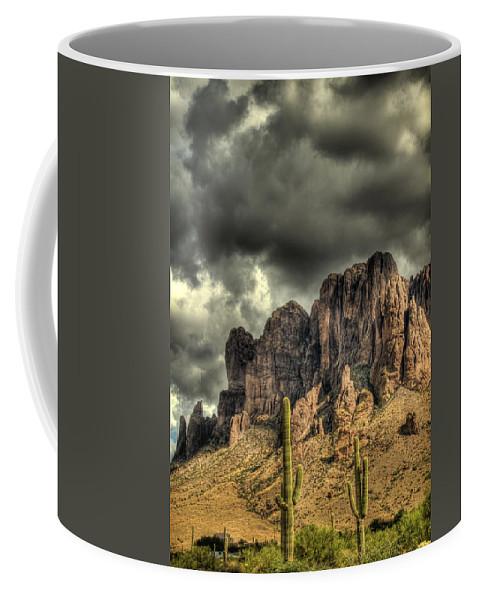 Arizona Coffee Mug featuring the photograph On The Mountain by Saija Lehtonen