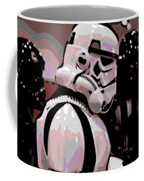 Storm Trooper Coffee Mug featuring the photograph On The Move by George Pedro