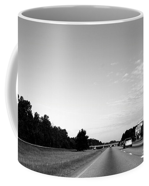 Transportation Coffee Mug featuring the photograph On The Road by Samantha Glaze