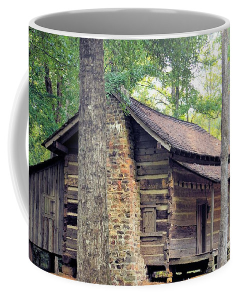 Once Coffee Mug featuring the photograph Once Lived In by Maria Urso