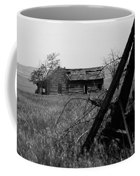 Farm Coffee Mug featuring the photograph Once Was Home by Sharon Elliott