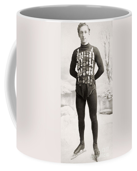 1900 Coffee Mug featuring the photograph One E. Lamy, C1900 by Granger