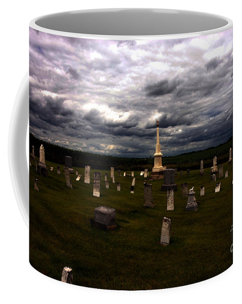 Angel Coffee Mug featuring the photograph Only Borrowed Time by Alan Look