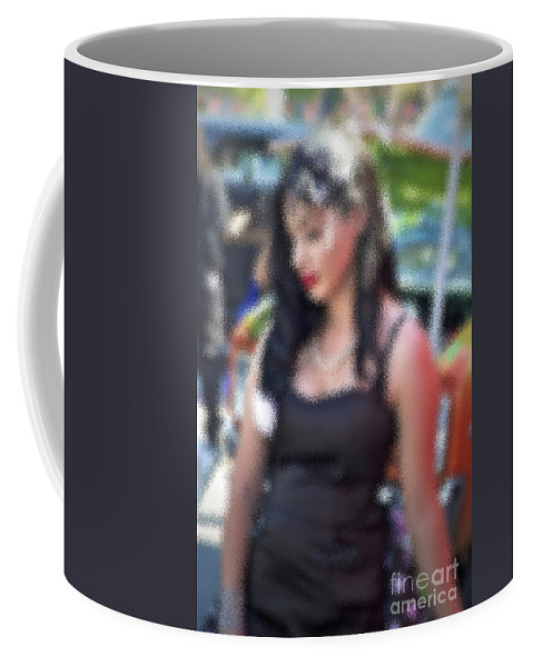 Woman Coffee Mug featuring the photograph Only Love by Gwyn Newcombe