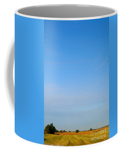 Landscape Coffee Mug featuring the photograph Open Air by Susan Herber