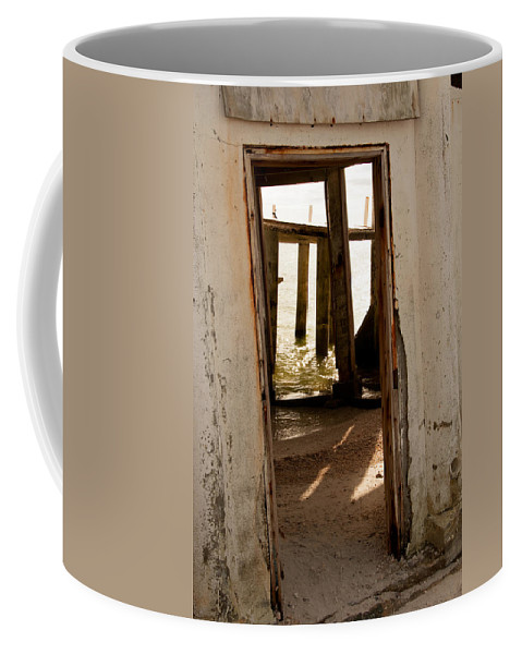 Doorway Coffee Mug featuring the photograph Open Door Policy by Christine Stonebridge