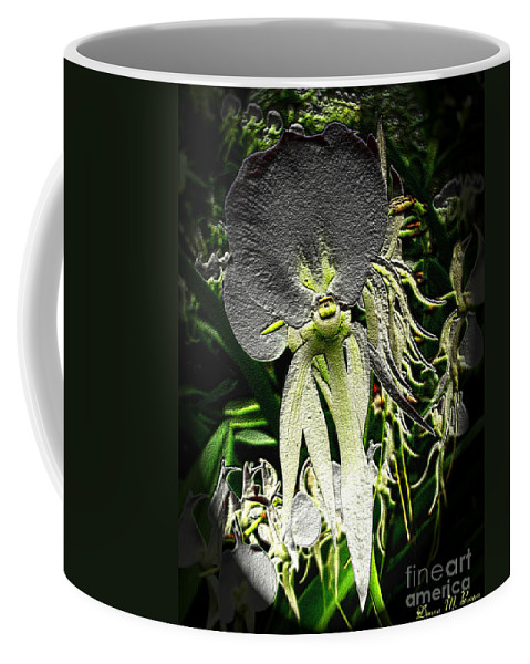 Flowers Coffee Mug featuring the photograph Orchids Abound by Donna Brown