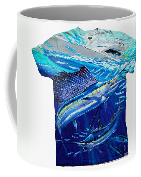 Carey Chen Coffee Mug featuring the digital art Out Of Sight Mens Shirt by Carey Chen