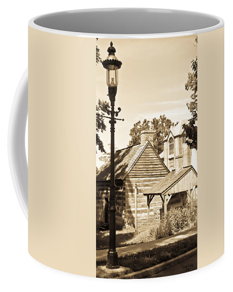 Mercer Museum Coffee Mug featuring the photograph Outside The Mercer Museum by Trish Tritz