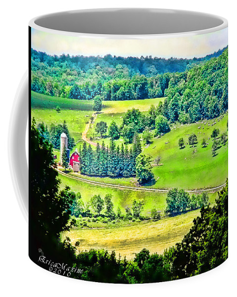 Ny Coffee Mug featuring the photograph Over Yonder by Ericamaxine Price