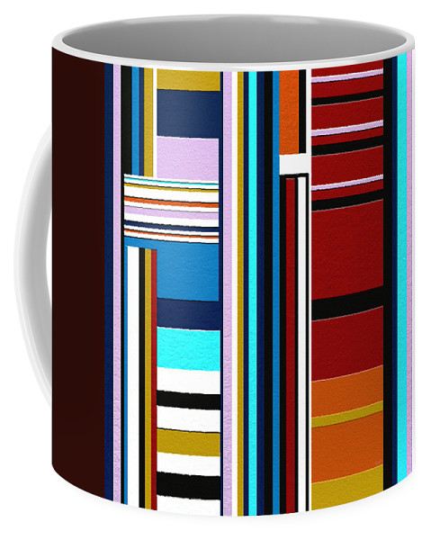 Abstract Art Coffee Mug featuring the digital art Overture by Ely Arsha