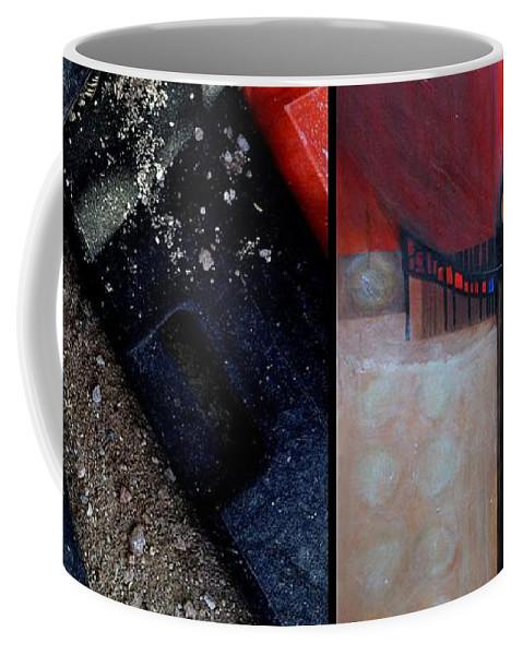 Marlene Burns Coffee Mug featuring the painting p HOTography 29 by Marlene Burns