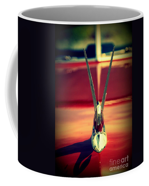 Packard Coffee Mug featuring the photograph Packard Swan 3 by Susanne Van Hulst