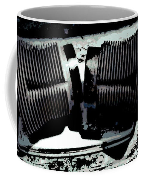 Vw Coffee Mug featuring the photograph Pair Of Jugs by George Pedro