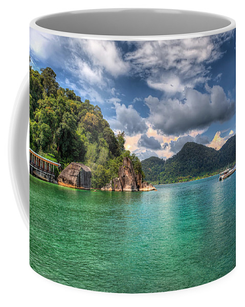 Tropical Coffee Mug featuring the photograph Pangkor Laut by Adrian Evans