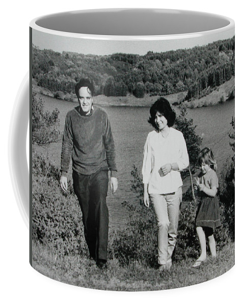 Colette Coffee Mug featuring the photograph Pappa Hans Mama Chris Colette 1960 Dollerup Hills Denmark by Colette V Hera Guggenheim