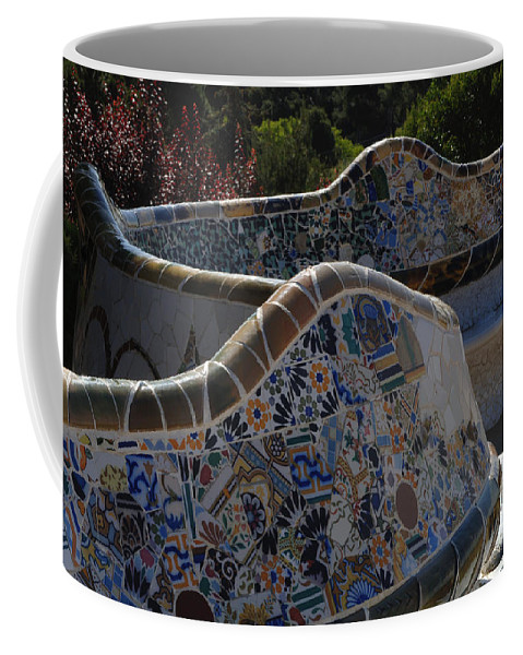 Parc Guell Coffee Mug featuring the photograph Parc Guell Barcelona by Bob Christopher