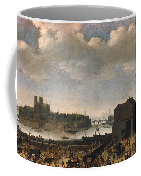 1646 Coffee Mug featuring the photograph Paris, C1646 by Granger