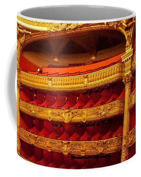 France Coffee Mug featuring the photograph Paris Opera House Iv  Box Seats by Jon Berghoff