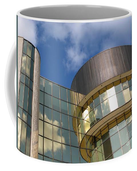 Clouds Coffee Mug featuring the photograph Partly Cloudy by Ann Horn