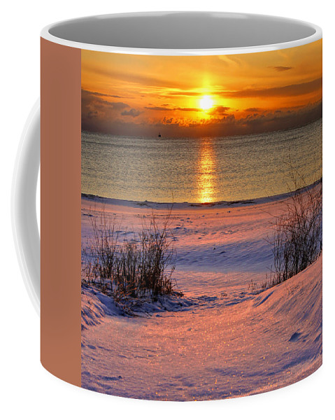 Beach Coffee Mug featuring the photograph Path To Splendor Cropped by Bill Pevlor