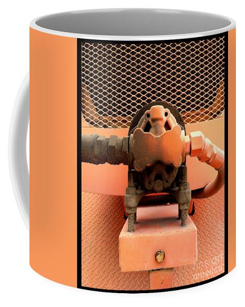Orange Bolts Coffee Mug featuring the photograph Pc 51 by Marlene Burns