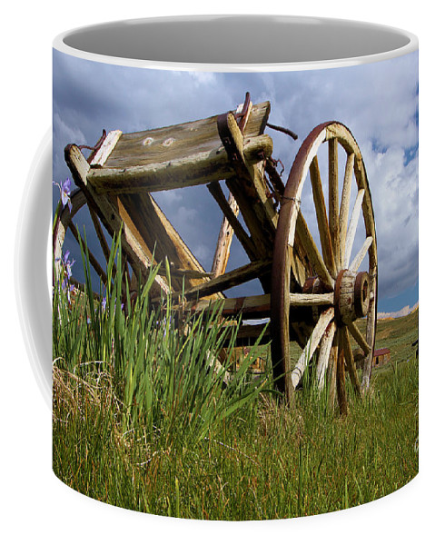 Bodie Ghost Town Coffee Mug featuring the photograph Peak Oil by Adam Jewell
