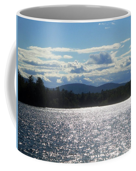 Lake Coffee Mug featuring the photograph Perfect Day On The Lake by Kevin Fortier