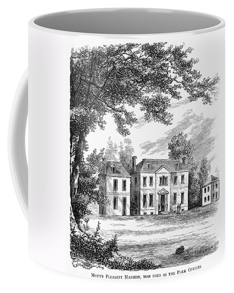 1761 Coffee Mug featuring the photograph Philadelphia: Mansion by Granger