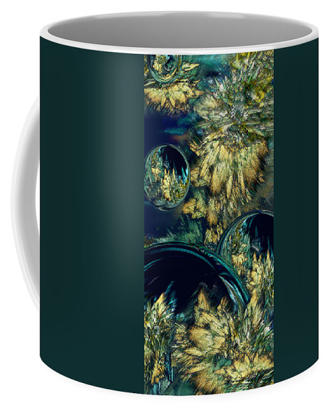 Phil Sadler Coffee Mug featuring the digital art Phloral Activity by Phil Sadler