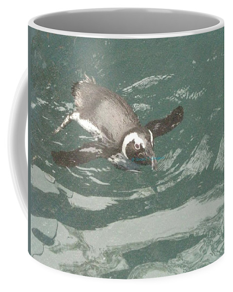 Fat Goose Coffee Mug featuring the photograph Pinguis by Sonali Gangane
