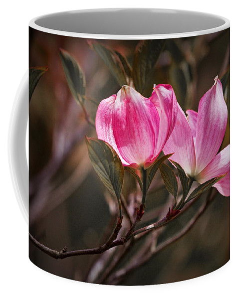 Art Coffee Mug featuring the photograph Pink Flower Tree Blossoms No. 247 by Randall Nyhof
