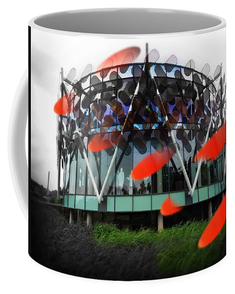 Architecture Coffee Mug featuring the photograph Pink Floyd Park by Charles Stuart