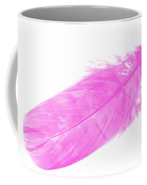 Pink Goose Coffee Mug featuring the photograph Pink Goose by Steve Purnell