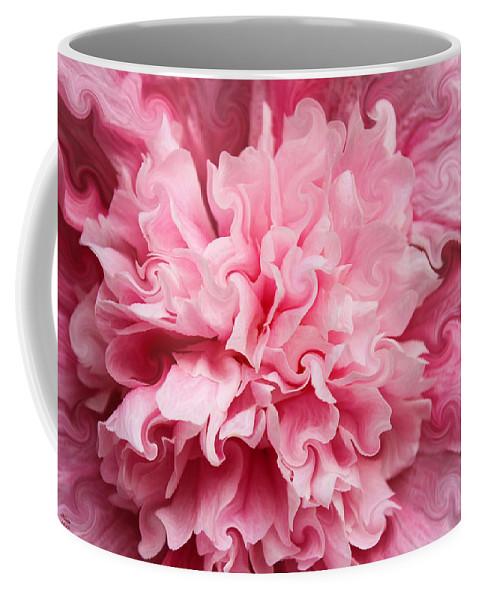 Hollyhock Coffee Mug featuring the photograph Pink by Kristin Elmquist