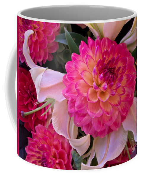 Flower Coffee Mug featuring the photograph Pink Possibilities by Arlene Carmel