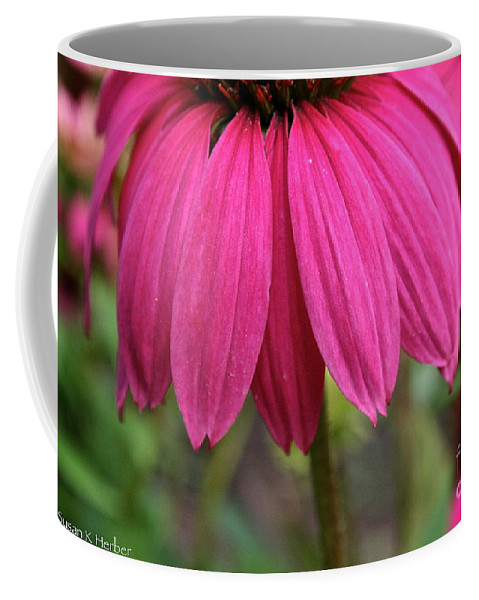 Plant Coffee Mug featuring the photograph Pink Skirts by Susan Herber