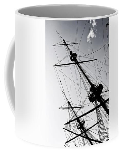 Mast Coffee Mug featuring the photograph Pirate Ship by Joana Kruse
