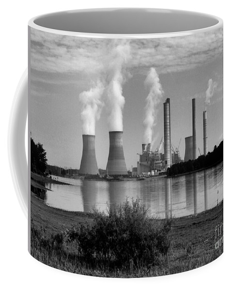 Scenic Coffee Mug featuring the photograph Plant Shear by Donna Brown