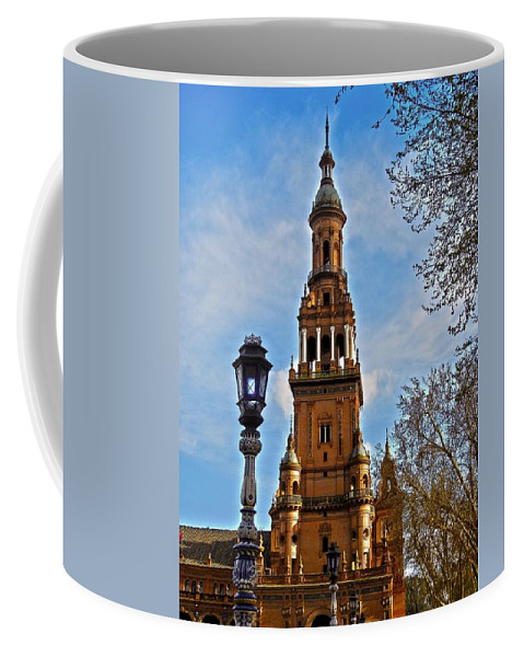 Europe Coffee Mug featuring the photograph Plaza De Espana - Sevilla by Juergen Weiss