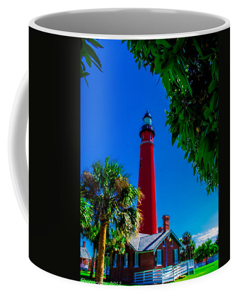 Lighthouse Coffee Mug featuring the photograph Ponce Inlet Lighthouse 1 by Shannon Harrington