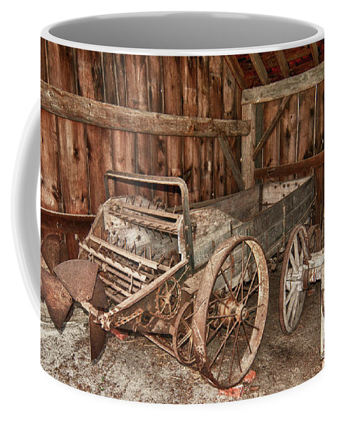 Balls Falls Conservation Area Coffee Mug featuring the photograph Poop Popper by Guy Whiteley