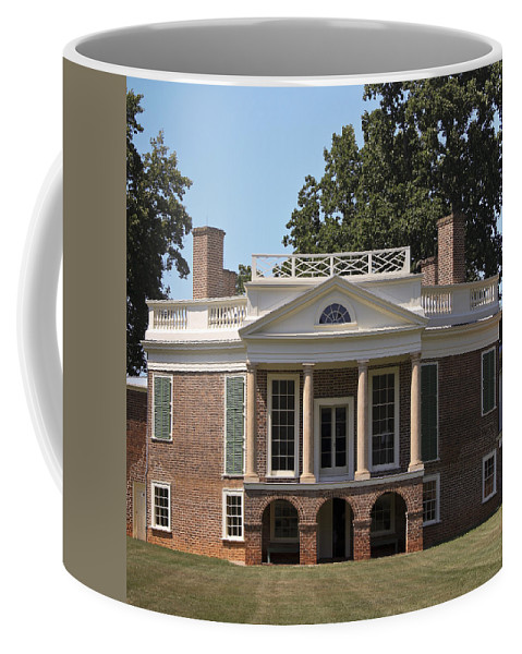 Poplar Forest Coffee Mug featuring the photograph Poplar Forest Squared by Teresa Mucha
