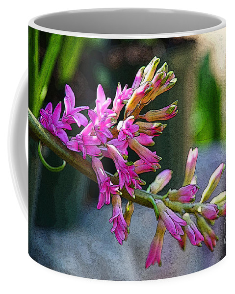 Flowers Coffee Mug featuring the photograph Posteredged Flowers by Randy Harris