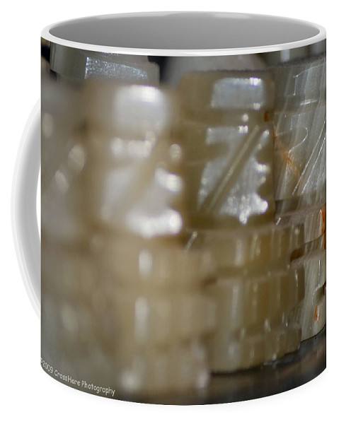 Chess Coffee Mug featuring the photograph Prepared For Battle by Michael Merry
