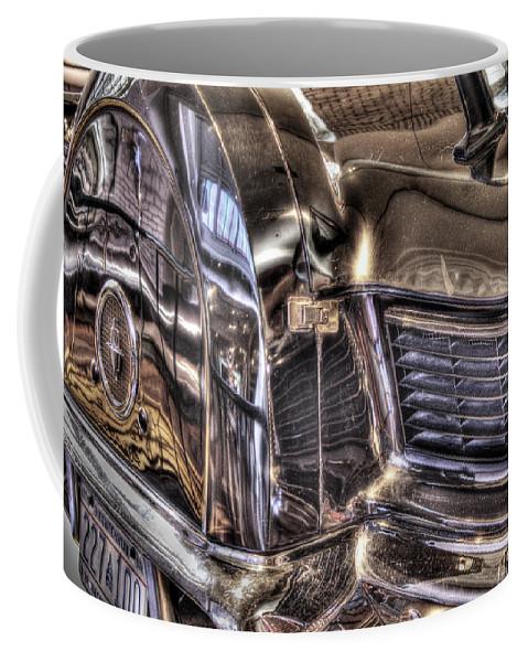 Coffee Mug featuring the photograph Presidential Lincoln Tail Lights Dearborn Mi by Nicholas Grunas