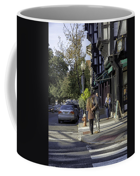 People Coffee Mug featuring the photograph Princeton Afternoon - New Jersey by Madeline Ellis